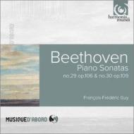 ピアノ・ソナタ第29番『ハンマークラヴィーア』、第30番 フランソワ=フレデリク・ギィ(1997)