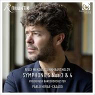 交響曲第3番『スコットランド』、第4番『イタリア』 パブロ・エラス=カサド&フライブルク・バロック・オーケストラ