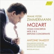 ヴァイオリン協奏曲第5番『トルコ風』、第2番、協奏交響曲 ツィンマーマン、タムスティ、スルク&バイエルン放送室内管