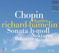 ピアノ・ソナタ第3番、ピアノ作品集 シャルル・リシャール=アムラン(2015年第17回ショパン国際ピアノ・コンクール・ライヴ)(2CD)