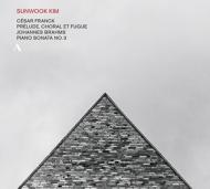 ブラームス:ピアノ・ソナタ第3番、フランク:『前奏曲、コラールとフーガ』 キム・ソヌク
