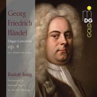 オルガン協奏曲集作品4(オルガン独奏版) ルドルフ・インニヒ(2CD)