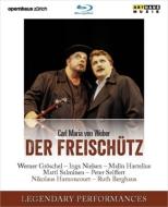 『魔弾の射手』全曲 ベルクハウス演出、アーノンクール&チューリッヒ歌劇場、ザイフェルト、サルミネン、I.ニールセン、他(1999 ステレオ)