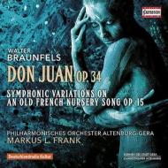 ドン・ファン、交響的変奏曲 M.L.フランク&アルテンブルク・ゲラ・フィル