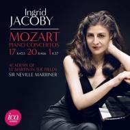 ピアノ協奏曲第20番、第17番、第1番 ジャコビー、マリナー&アカデミー室内管