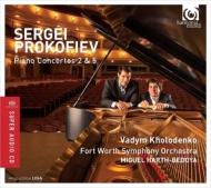 ピアノ協奏曲第2番、第5番 ヴァディム・ホロデンコ、ミゲル・アルト=ベドヤ&フォートワース交響楽団