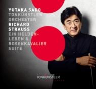 『英雄の生涯』、『ばらの騎士』組曲 佐渡 裕&トーンキュンストラー管弦楽団