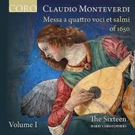 『4声のミサ曲と詩篇曲集』第1巻 ハリー・クリストファーズ&ザ・シックスティーン