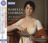 コルブラン、イザベッラ(1785-1845)/Arie Italiane For Vocal & Harp: Pizzoli(S) Gubri(Hp) (Ltd)