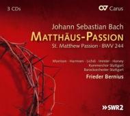 マタイ受難曲 ベルニウス&シュトゥットガルト・バロック・オーケストラ、シュトゥットガルト室内合唱団、リヒディ、イムラー、他(3CD)