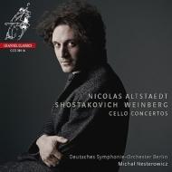 ショスタコーヴィチ:チェロ協奏曲第1番、ヴァインベルグ:チェロ協奏曲、ルトスワフスキ:小組曲 アルトシュテット、ネステロヴィチ&ベルリン・ドイツ響