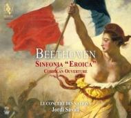 交響曲第3番『英雄』、序曲『コリオラン』 サヴァール&ル・コンセール・デ・ナシオン