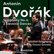 交響曲第6番、スラヴ舞曲集 アンドレス・オロスコ=エストラーダ&ヒューストン交響楽団