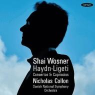 リゲティ:ピアノ協奏曲、カプリッチョ第1番、第2番、ハイドン:ピアノ協奏曲集 ウォスネル、コロン&デンマーク国立響