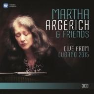 マルタ・アルゲリッチ&フレンズ/ライヴ・フロム・ルガーノ2015(3CD)