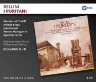 『清教徒』全曲 ムーティ&フィルハーモニア管、カバリエ、クラウス、他(1979 ステレオ)(3CD)