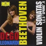 ヴァイオリン・ソナタ第5番『春』、第1番、第2番、第5番 フランチェスカ・デゴ、フランチェスカ・レオナルディ
