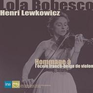 ローラ・ボベスコ、アンリ・レフコヴィチ秘蔵音源集1956〜61(2CD)