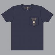 ポケットTシャツ(ネイビー)【M】/ TETSUYA  CÉLUXE NIGHT