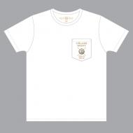 ポケットTシャツ(ホワイト)【M】/ TETSUYA  CÉLUXE NIGHT