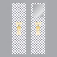 三つ折りミラー/ TETSUYA  CÉLUXE NIGHT