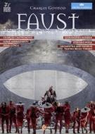 『ファウスト』全曲 ポーダ演出、ノセダ&トリノ・レッジョ劇場、カストロノーヴォ、アブドラザコフ、他(2015 ステレオ)(日本語字幕付)(2DVD)