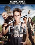 PAN 〜ネバーランド、夢のはじまり〜<4K ULTRA HD&ブルーレイセット>(2枚組)