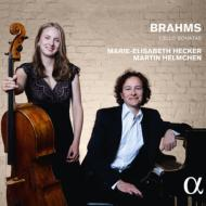 ブラームス:チェロとピアノのためのソナタ (全2曲) マリー=エリザベート・ヘッカー、マルティン・ヘルムヒェン