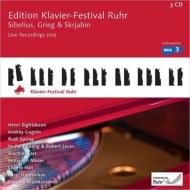 ルール・ピアノ・フェスティヴァル・エディション第34集〜アンドレイ・ググニン、ベンヤミン・モーザー、ヤ=フェイ・チャン、ルディ・シュプリング、他(3CD)