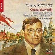 交響曲第5番『革命』、交響曲第12番『1917年』 ムラヴィンスキー&レニングラード・フィル