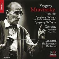 交響曲第3番、第7番、トゥオネラの白鳥 ムラヴィンスキー&レニングラード・フィル