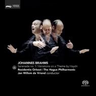 セレナード第1番、ハイドンの主題による変奏曲 フリエンド&ハーグ・レジデンティ管弦楽団