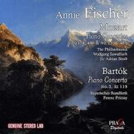 モーツァルト:ピアノ協奏曲第21番、第23番、バルトーク:ピアノ協奏曲第3番 アニー・フィッシャー、サヴァリッシュ、ボールト、フリッチャイ