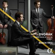 ドヴォルザーク:ピアノ三重奏曲第3番、第4番「ドゥムキー」 ブッシュ三重奏団