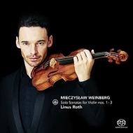 ヴァインベルグ:無伴奏ヴァイオリン・ソナタ全曲、ショスタコーヴィチ:幻想的舞曲 リナス・ロス、ホセ・ガジャルド