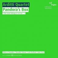 Arditti Q: Pandora's Box-john Zorn, R.saunders, B.mason, L.bedford