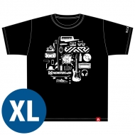 NIXON×MONSTER baSH 2016 コラボTシャツ[XL] / MONSTER baSH 2016