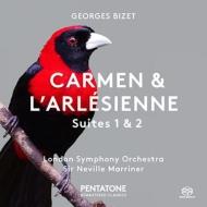 『カルメン』組曲第1番、第2番、『アルルの女』組曲第1番、第2番 ネヴィル・マリナー&ロンドン交響楽団