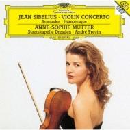 ヴァイオリン協奏曲、2つのセレナード、ユーモレスク第1番 アンネ=ゾフィー・ムター、プレヴィン&シュターツカペレ・ドレスデン