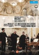 ピアノ協奏曲第23番、ヴァイオリン協奏曲第5番 コルティ、ノアリ、ミンコフスキ&ルーヴル宮音楽隊