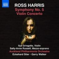 交響曲第5番、ヴァイオリン協奏曲 シュティーア&オークランド・フィル、イリヤ・グリンゴルツ