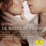 『フィガロの結婚』全曲 ネゼ=セガン&ヨーロッパ室内管、ハンプソン、ヨンチェヴァ、ヴィラゾン、他(3CD)