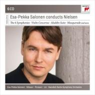 交響曲全集、管弦楽曲集 エサ=ペッカ・サロネン&スウェーデン放送交響楽団(6CD)