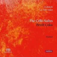 無伴奏チェロ組曲全曲(ギター独奏版) ペトリット・チェク(2SACD)