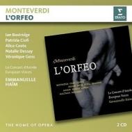 『オルフェオ』全曲 エマニュエル・アイム&ル・コンセール・ダストレ、ボストリッジ、デセイ、チオーフィ、他(2003 ステレオ)(2CD)