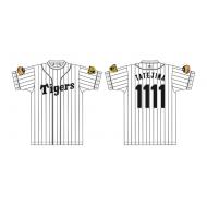 プレイヤーズTシャツM / 阪神タイガース X たてじまさん