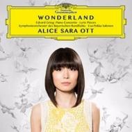 ワンダーランド〜ピアノ協奏曲、抒情小曲集より、『ペール・ギュント』より アリス=紗良・オット、サロネン&バイエルン放送交響楽団
