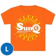 SunQ Tシャツ(オレンジ)【L】 / SunQ&ホシセカイ