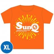 SunQ Tシャツ(オレンジ)【XL】 / SunQ&ホシセカイ