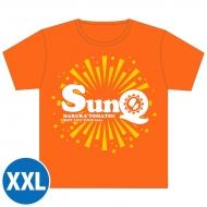 SunQ Tシャツ(オレンジ)【XXL】 / SunQ&ホシセカイ